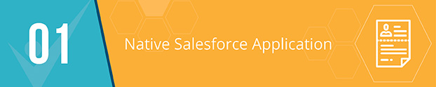Make sure that your event management app is native to Salesforce.