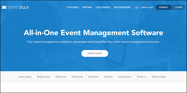 Eventzilla, a Linvio Events alternative, is an all-in-one event management software.